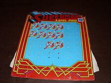 Vintage Superman Store Display Super Heroes Rare Superfriends DC Comic MOC 1987