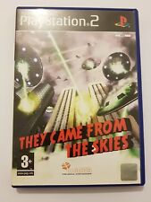 They Came from the Sky ps2 pal España y completo