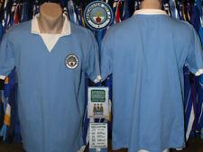 Retro Replica Manchester City (The Cityzens) Score Draw 1975/1976 Home Shirt