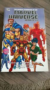 Essential Official Handbook of the Marvel Universe Update '89 TPB #1-1ST