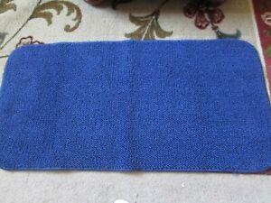"""Non Skid Kitchen Area Rug - Dark Blue - 36"""" X 18"""""""