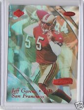 Stampeders CFL HOF QB Jeff Garcia 1999 Collector's Edge Holosilver Red RC /3500