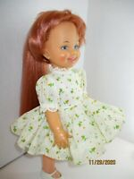 "Vintage IDEAL CRISSY DOLL CINNAMON GROW RED HAIR 12"" 1971- 1972 Nice"