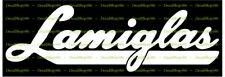 Lamiglas Fishing Rods - Outdoors Sports - Car Vinyl Die-Cut Peel N' Stick Decals