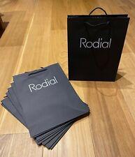 NEW 10x Rodial Black Paper Tote Gift Bag 33 x 25cm Bulk Job Lot Wholesale Bundle