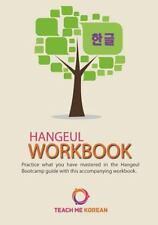 Teach Me Korean - Hangeul Workbook : Practice Your Korean Alphabet Skills in ...