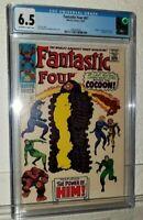 FANTASTIC FOUR #67 CGC 6.5 1st appearance of HIM / Adam Warlock Stan Lee MARVEL