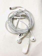 Apple Lightning Earphone Headset for iPhone Used (Original ) Set Of 2 Headphones