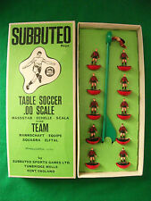 Boxed Subbuteo HW Heavyweight Team Ref No 76 Manchester City Second, Bournemouth