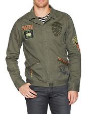Scotch & Soda Army Shirt Jacket, Army, Size XL, MSRP $165