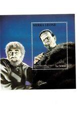 Sierra Leone - 1997 Horror Classics - Boris Karloff Souvenir Sheet - MNH