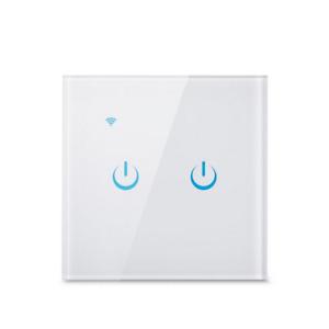 2-Kreis-Lichtschalter. WiFi TUYA Funktioniert ohne N!