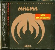 MAGMA-MEKANIK DESTRUKTIW KOMMANDOH...-IMPORT DIGIPAK CD WITH JAPAN OBI G88