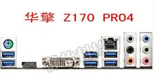NEW I/O IO SHIELD BACKPLATE FOR ASRock Z170 Pro4 #T3904 YS