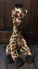 """Cute 2009 14"""" Long Beanie """"Giraffe"""" Collectible Plush made by """"Ty"""" Euc"""