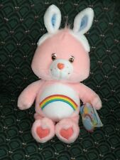 "Care Bear 8"" Easter CHEER BEAR * with Bunny ears * NWT *2003* RARE * RETIRED *"