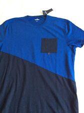 NEW Genuine Hollister Men's Blue Navy T-shirt Size L