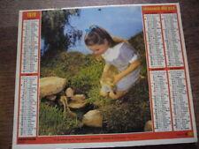 ALMANACH.CALENDRIER DES PTT.1978/ENFANT..CHEVAUX. TBE. IDEE CADEAU ANNIVERSAIRE
