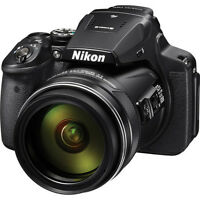 Nikon COOLPIX P900 16MP Digital Camera with 83x Optical Zoom Lens In Black! NEW!