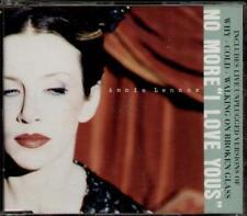 EURYTHMICS -ANNIE LENNOX No More I Love You'S  CD 4 Tracks Inc Why-Unplugged Ver