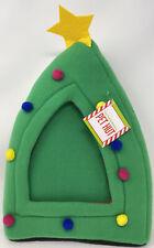 Cozy Pop-Up Hideaway Christmas Tree Holiday Pet Hut