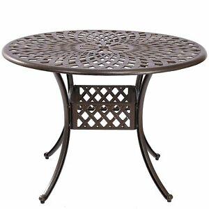 Arden Patio Table in Bronze