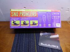 Kids Youth 8-14 Snow Prowlers Snowshoes Medium 110 lbs Orange, New In Box!