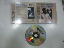 LIONEL HAMPTON CD WITH OSCAR PETERSON 1994 VERVE
