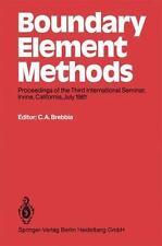Boundary Element Methods : Proceedings of the Third International Seminar,...