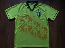 BRAZIL NATIONAL TEAM 1994-1996 FOOTBALL SHIRT JERSEY SIZE L UMBRO