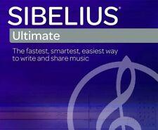 Av-I'd Sibelius Ultimate 2019 Software Perpetual Write Share Music