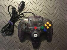 Genuine Nintendo 64 N64 OEM ATOMIC PURPLE Controller Clean Tested Tight Joystick