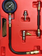 Petrol Gas Engine Cylinder Compression Tester Kit Gauge Automotive Diagnostic