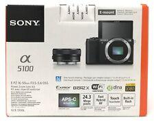 Sony Alpha a5100 16-50mm Lens Mirrorless Digital Camera 24.3MP NEW +WARRANTY