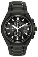 Citizen Eco-Drive Men's Titanium Sapphire Chronograph 43mm Watch CA0265-59E