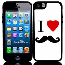 I Heart Love Mustache For Iphone 6 Case Cover