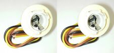 Parts Master 82018 3-Wire Double Contact Lamp Socket & Pigtail GM (Qty 2)