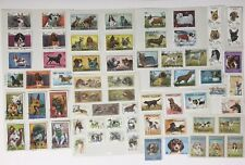 DOGS. 67 Postage Stamps. World Wide (UAE, CCCP-Russia +) Used/Unused