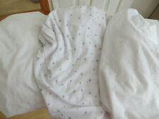 3 x great crib sheets from Mothercare