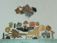 & Crafting, Assorted- Made In Usa 30 Brass Travel Theme Stampings For Jewelry