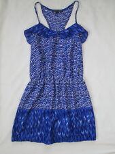 CREATIVE COMMUNE BLUE WHITE SUMMER DRESS SAKS NEW LIGHTWEIGHT SMALL