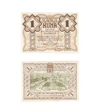 Croatia - Zagreb City 1942 Emergency currency 1 KUNA.