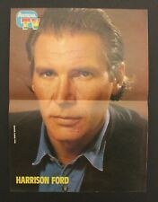 1980's Antena HARRISSON FORD Spanish vintage mini-poster 28 x 21 cm.