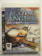 OCCASION: Jeu BLAZING ANGELS Squadrons Of WWII PS3 playstation 3 sony francais