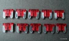 New Micro Mini Blade Fuse 10A 10 Amp TOYOTA JAPAN Car #GTC 10 pcs/ Lot