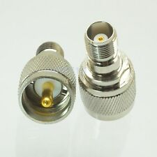 1pce Adapter UHF PL259 male plug to TNC female jack RF connector straight M/F
