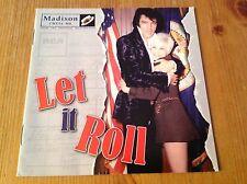 Elvis Presley cd - Let it roll - RARE! Madison label