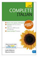 Complete Italian (Learn Italian with Teach Yourself)-ExLibrary