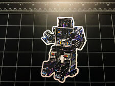 Transformers G1 Motormaster box art vinyl decal sticker Decepticon toy 1980's