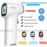 CE Non contact Thermometer Infrared LCD Digital Forehead Hman Fever temp Meter